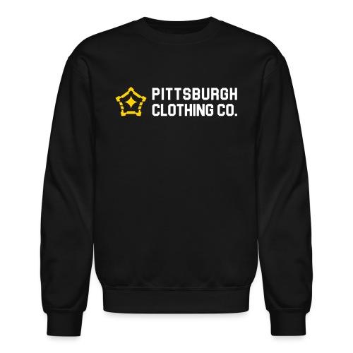 wordmark side - Unisex Crewneck Sweatshirt