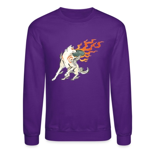 Fire wolf - Unisex Crewneck Sweatshirt