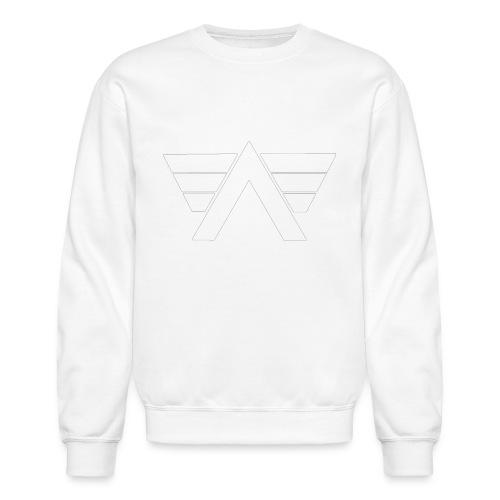 Bordeaux Sweater White AeRo Logo - Unisex Crewneck Sweatshirt