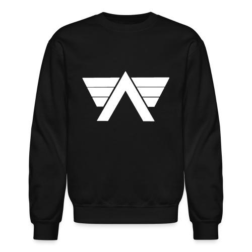 Bordeaux Sweater White AeRo Logo - Crewneck Sweatshirt