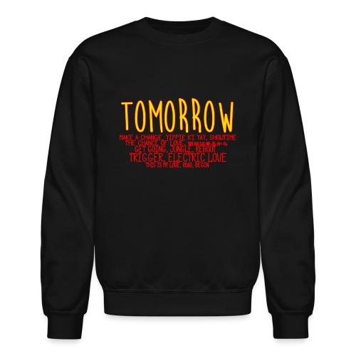Tomorrow Album Design - Crewneck Sweatshirt