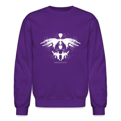 Rorschach_white - Crewneck Sweatshirt