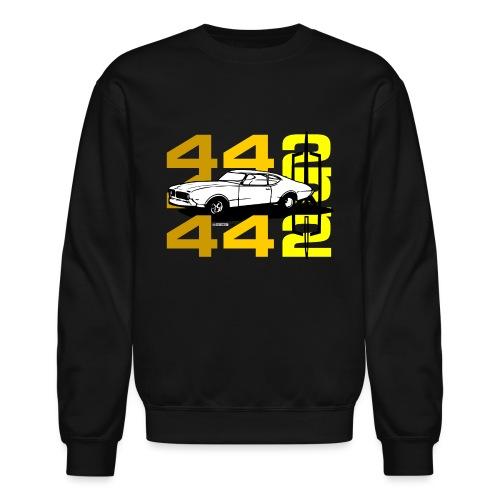 auto_oldsmobile_442_002a - Crewneck Sweatshirt