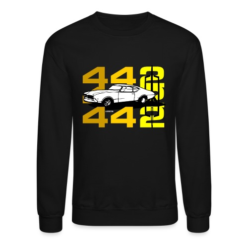 auto_oldsmobile_442_002a - Unisex Crewneck Sweatshirt