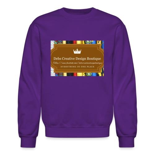 Debs Creative Design Boutique with site - Crewneck Sweatshirt