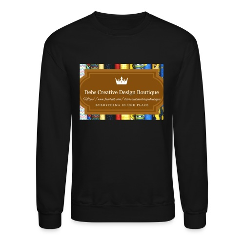 Debs Creative Design Boutique with site - Crewneck Sweatshirt