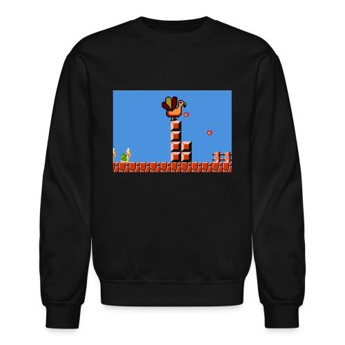 Thanksgiving gaming - Crewneck Sweatshirt