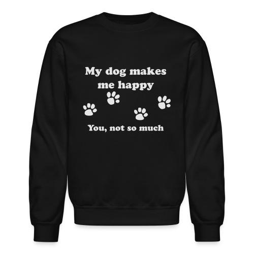 dog_happy - Unisex Crewneck Sweatshirt