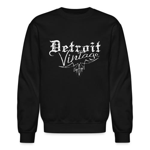 Detroit Vintage - Unisex Crewneck Sweatshirt
