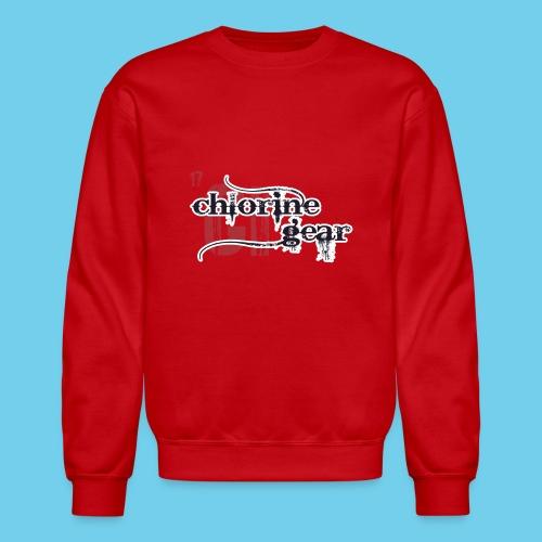 Chlorine Gear Textual stacked Periodic backdrop - Crewneck Sweatshirt