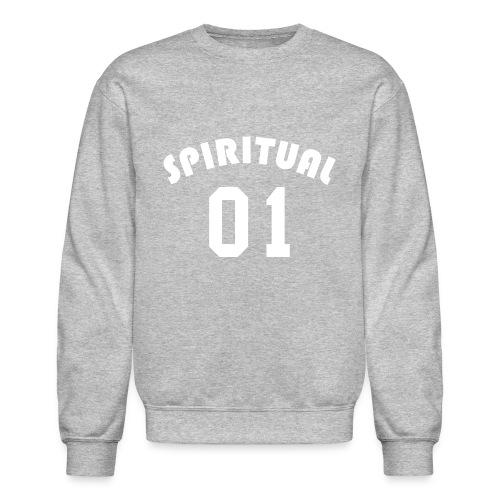Spiritual 01 - Team Design (White Letters) - Crewneck Sweatshirt