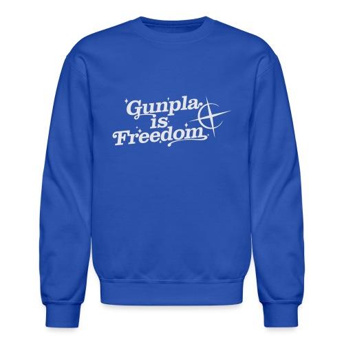 Freedom Men's T-shirt — Banshee Black - Unisex Crewneck Sweatshirt