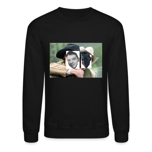 Darien and Curtis Camping Buddies - Crewneck Sweatshirt