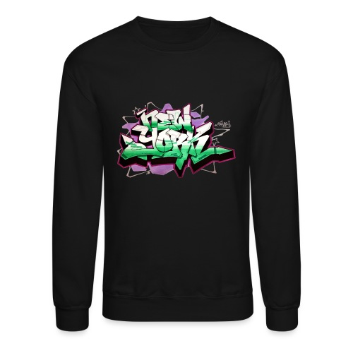 RANGE - Design for New York Graffiti Color Logo - Unisex Crewneck Sweatshirt