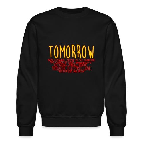 Tomorrow Album Design - Unisex Crewneck Sweatshirt