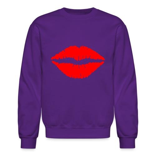 Red Lips Kisses - Crewneck Sweatshirt
