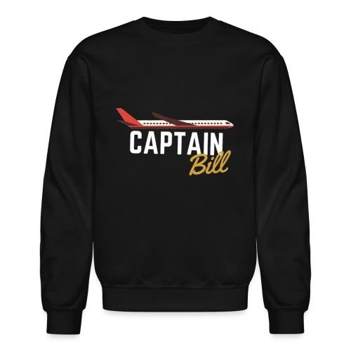 Captain Bill Avaition products - Crewneck Sweatshirt