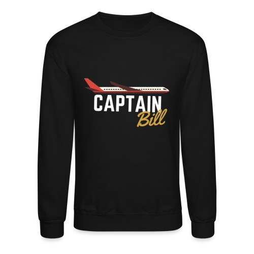 Captain Bill Avaition products - Unisex Crewneck Sweatshirt