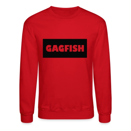 GAGFISH BLACK LOGO - Crewneck Sweatshirt