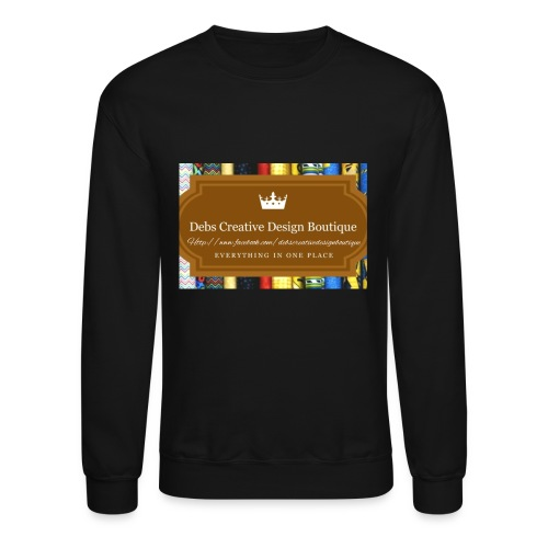 Debs Creative Design Boutique with site - Unisex Crewneck Sweatshirt