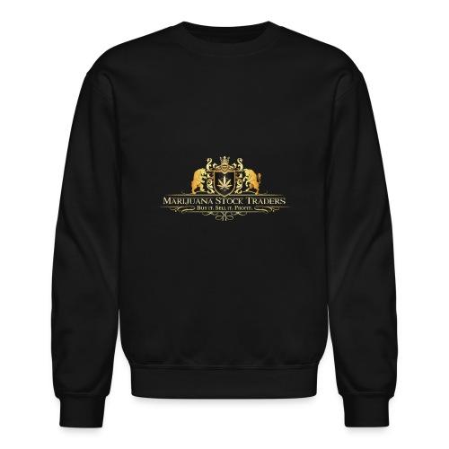 Original MST Marijuana Stock Traders Logo - Crewneck Sweatshirt