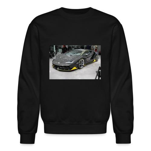 Lamborghini Centenario front three quarter e146585 - Crewneck Sweatshirt