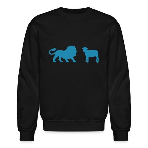 Lion and the Lamb - Unisex Crewneck Sweatshirt