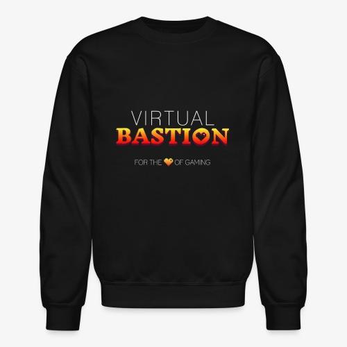 Virtual Bastion: For the Love of Gaming - Unisex Crewneck Sweatshirt