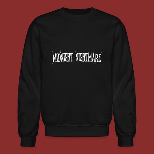 Midnight Nightmare Logo-w - Crewneck Sweatshirt
