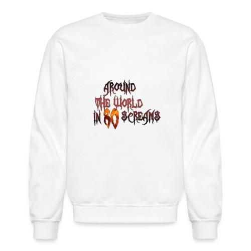 Around The World in 80 Screams - Unisex Crewneck Sweatshirt
