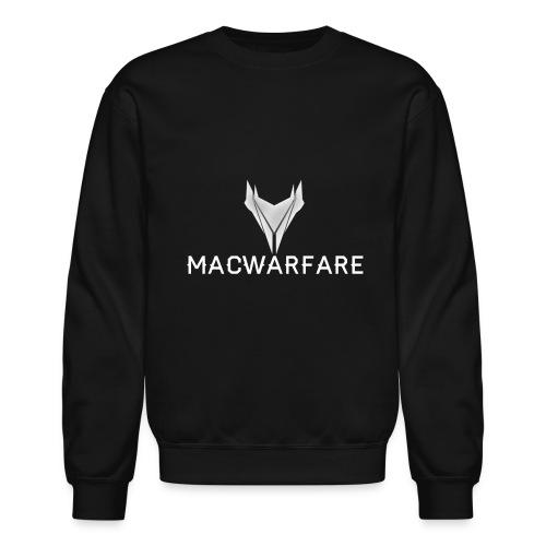 MacWarfare Channel Logo - Unisex Crewneck Sweatshirt