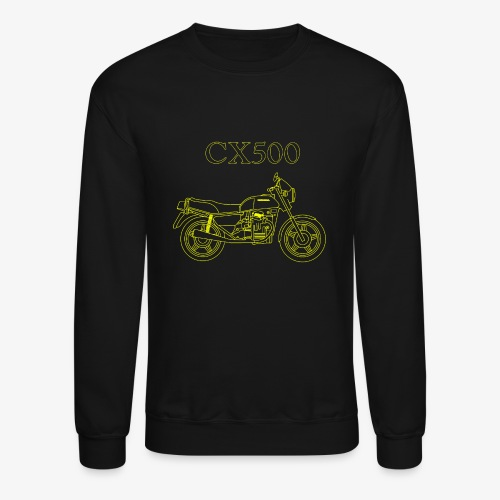 CX500 line drawing - Crewneck Sweatshirt