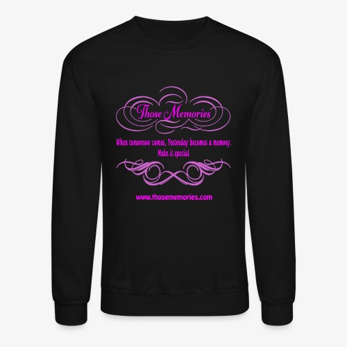 Those Memories logo - Unisex Crewneck Sweatshirt