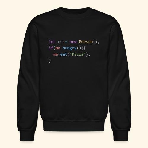 Pizza Code - Colored Version - Crewneck Sweatshirt