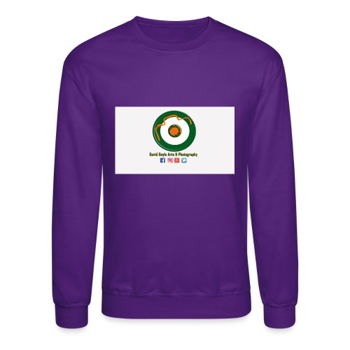 David Doyle Arts & Photography Logo - Crewneck Sweatshirt