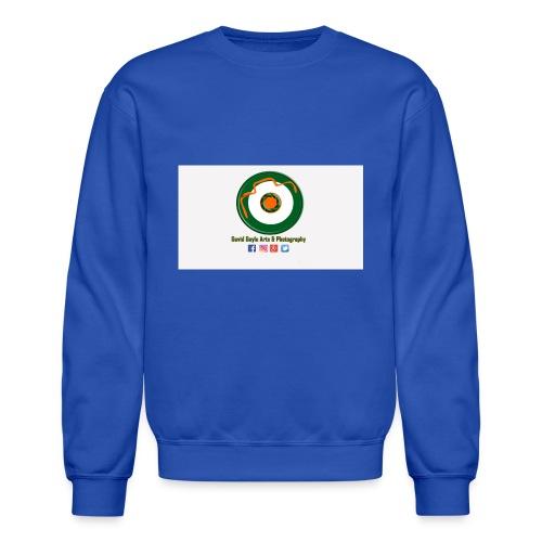 David Doyle Arts & Photography Logo - Crewneck Sweatshirt