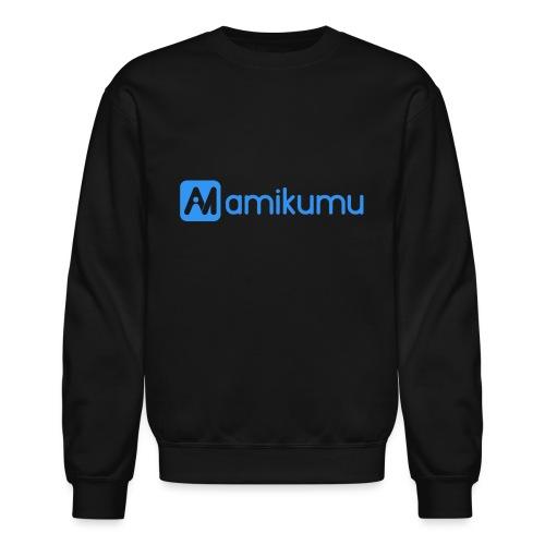 Amikumu Logo Blue - Unisex Crewneck Sweatshirt