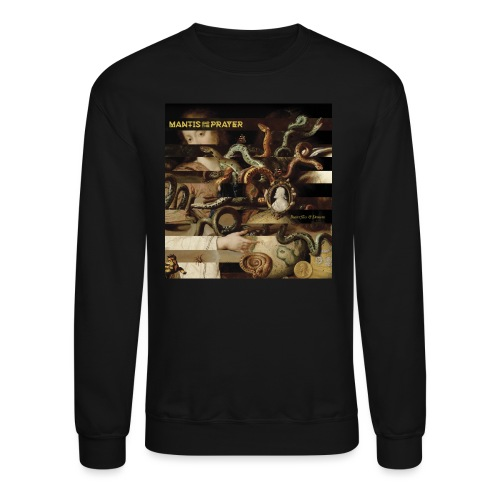 Mantis and the Prayer- Butterflies and Demons - Unisex Crewneck Sweatshirt