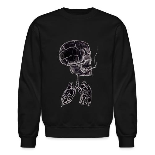 blacklungs png - Unisex Crewneck Sweatshirt