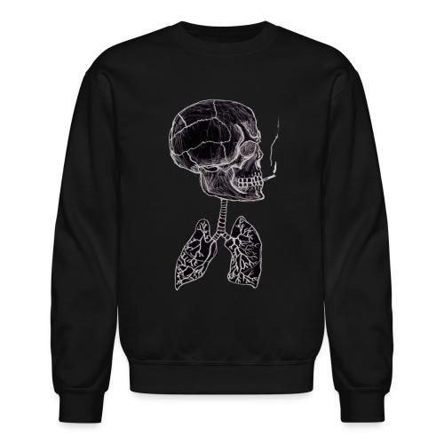 blacklungs png - Crewneck Sweatshirt