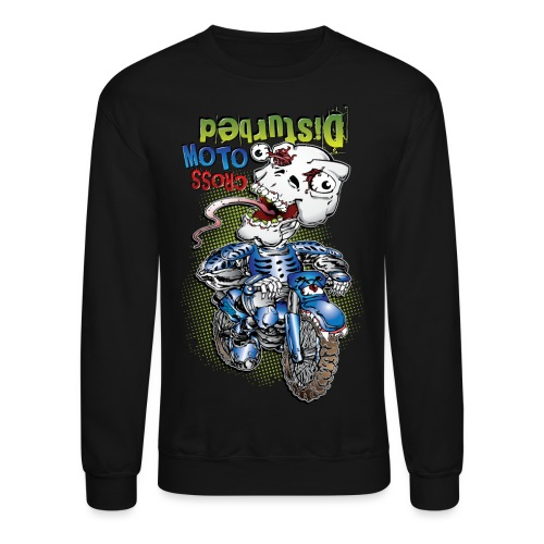 Disturbed Motocross Racer - Crewneck Sweatshirt