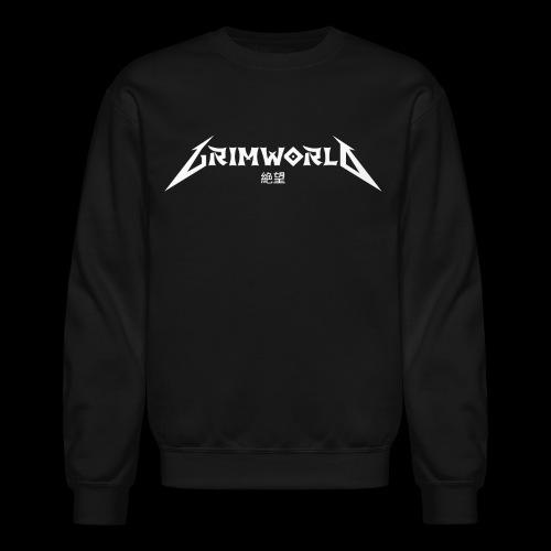 GRIMWORLD LOGO COKE WHITE - Crewneck Sweatshirt