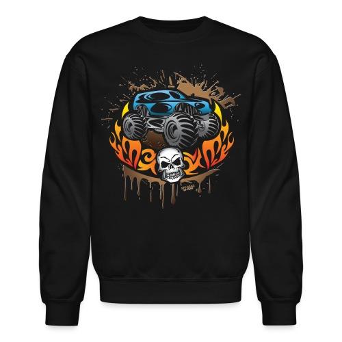 Monster Truck Shirt - Crewneck Sweatshirt