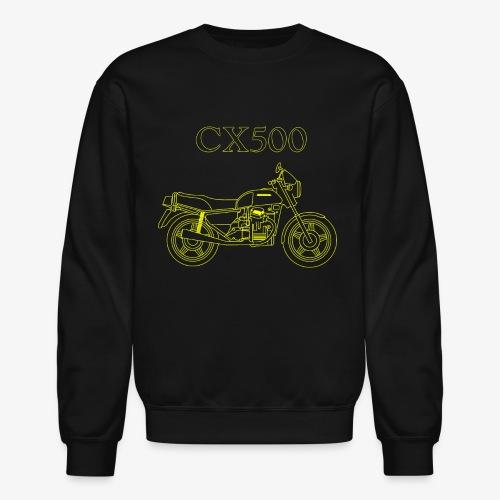 CX500 line drawing - Unisex Crewneck Sweatshirt