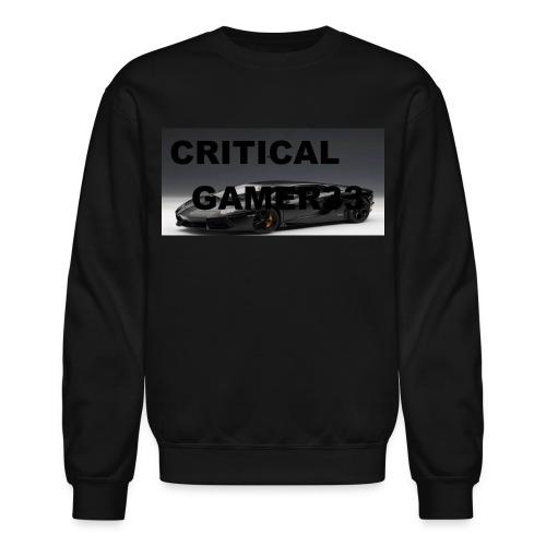 CRITICAL MERCH - Crewneck Sweatshirt