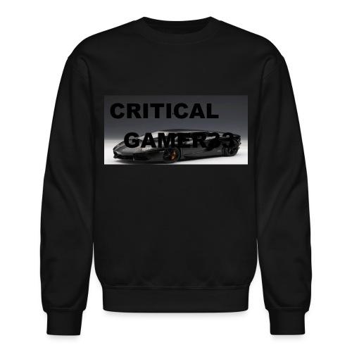 CRITICAL MERCH - Unisex Crewneck Sweatshirt