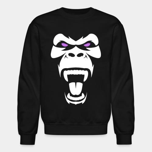 angry gorilla - Unisex Crewneck Sweatshirt