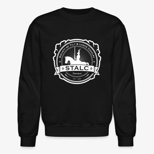 STALC Logo White only - Unisex Crewneck Sweatshirt
