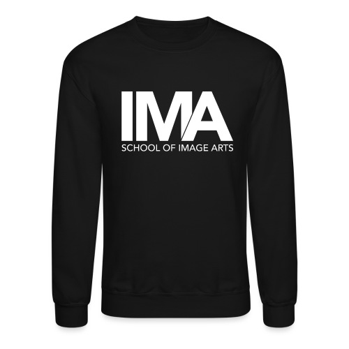 Copy of School of Image Arts Logos White png - Crewneck Sweatshirt
