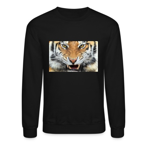 dangerous cat cat tiger wild animal 1200x1920 jpg - Unisex Crewneck Sweatshirt
